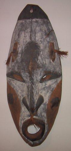 Middle Sepik River New Guinea Tribal Mask