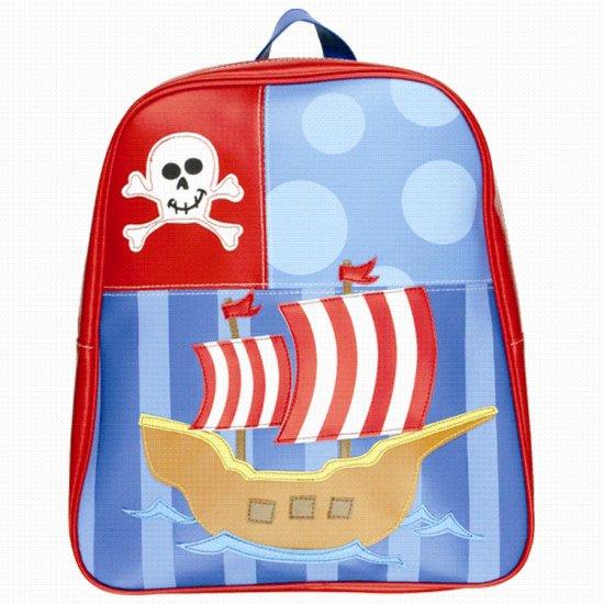 FREE SHIP Pirate Ship Go Go Backpack - Kids by Stephen Joseph FREE SHIP - USA