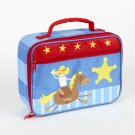 FREE SHIP Cowboy Buckaroo Lunch Box Bag Tote - Kids by Stephen Joseph FREE SHIPPING - USA