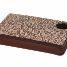 FREE SHIP Leopard Lap Desk Tray Cup Holder by RoomItUp / Room It Up FREE SHIP - USA