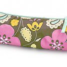 FREE SHIP Boho Flower Paisley Pencil Brush Case by RoomItUp / Room It Up FREE SHIP - USA