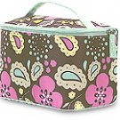 FREE SHIP Boho Flower Paisley Makeup Train Case by RoomItUp / Room It Up FREE SHIP - USA