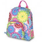 FREE SHIP Line Flower Mini Backpack by Room It Up RoomItUp FREE SHIP USA