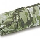 FREE SHIP Camo Green Fleece Blanket by RoomItUp / Room It Up FREE SHIP - USA