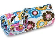 FREE SHIP Crazy Daisy Fleece Blanket by RoomItUp / Room It Up FREE SHIP - USA