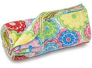 FREE SHIP Line Flower Fleece Blanket by RoomItUp / Room It Up FREE SHIP - USA