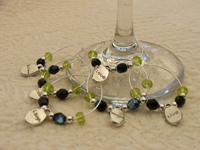 Conversational Wine Charms