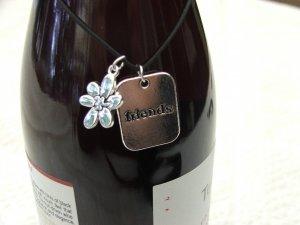 Charming Wine Bottle Charm