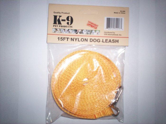 K-9 15ft Nylon Dog Leash