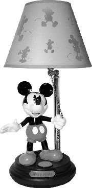 Mickey 75th Anniversary Lamp