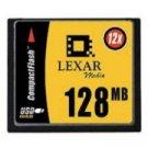 LEXAR 128MB High Speed 12X Compact Flash Card