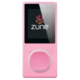 MICROSOFT  Zune 8GB MP3 Player - Pink (2nd Gen)