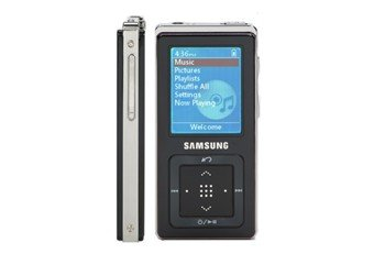 "Samsung 1GB Digital Audio Player with 1.8"" LCD - Samsung YPZ5ZB (YPZ5ZB)"