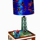 Spiderman Animated Musical Lamp
