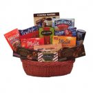 European Chocolate Luxuries  Sweet Gift Basket