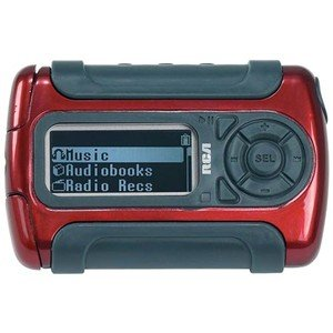 RCA Lyra 512MB Sport MP3 Player with Pedometer/Stopwatch