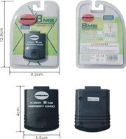 X-BOX 8MB MEMORY CARD