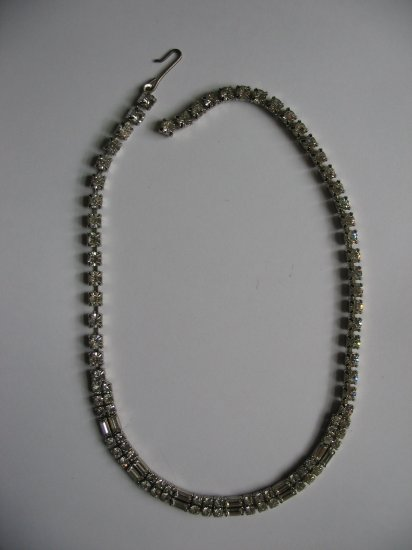 CLEAR EMERALD NECKLACE