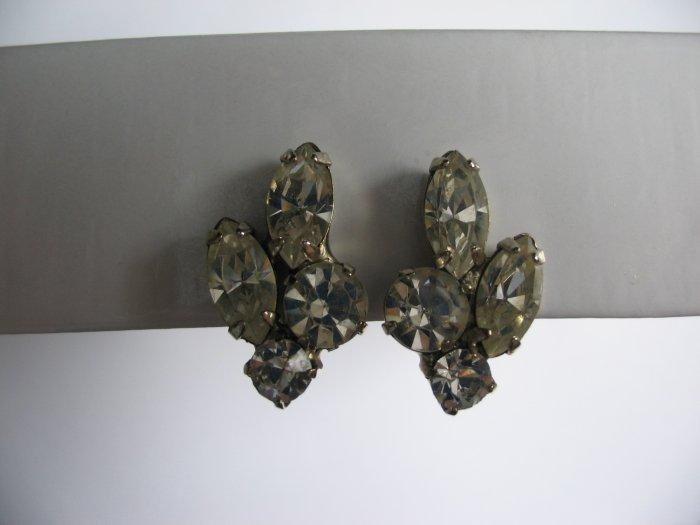 FOUR STONE EARRINGS