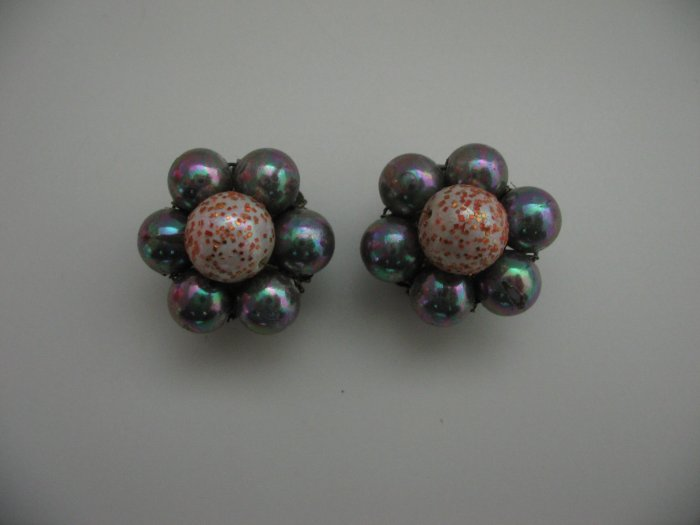 SPARKLE ROUND EARRINGS