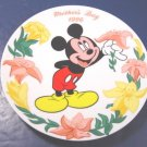 1996 MICKEY MOUSE MOTHER'S DAY COLLECTOR PLATE WALT DISNEY COMPANY PORCELAIN CHINA DISH