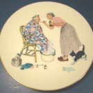 SPRING TONIC 1978 PLATE GORHAM NORMAN ROCKWELL PORCELAIN FINE CHINA FOUR SEASONS TENDER YEARS