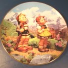 Little Explorers Goebel Little Companions M. J. M. I. Hummel china plate 1992 Danbury Mint box COA