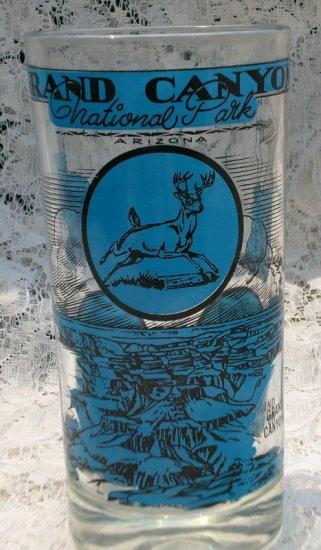 Vintage Grand Canyon National Park Arizona Souvenir Glass