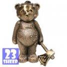 Rare Bad Taste Bear/Bears - BRONZE JASON