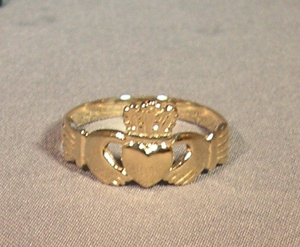 Celtic Wedding Ring 14K