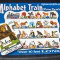 Melissa & Doug Floor Puzzle Lot Under the Sea ABC Train (2 different) ALL COMPLETE