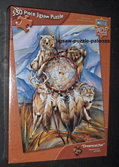 SOLD MasterPieces 550 Piece Jigsaw Puzzle - DREAMCATCHER - NEW / SEALED