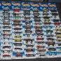 SOLD Mattel Hot Wheels Diecast Lot 87 Cars on Cards First Edition Dark Rider Blue Streak 1990's 1:64