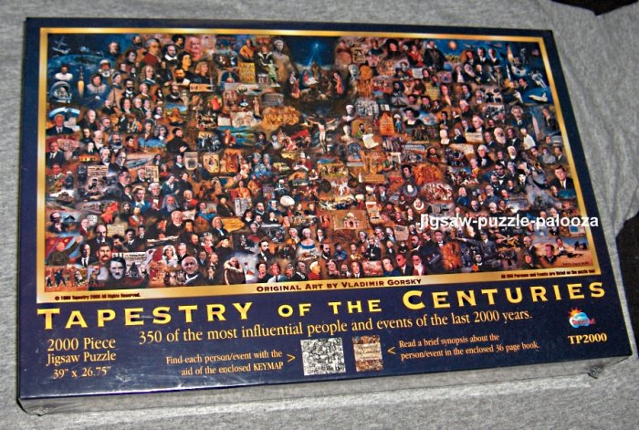 SOLD Tapestry of the Centuries 2000 Piece Jigsaw Puzzle Vladimir Gorsky New SEALED SunsOut TP2000