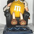 M&M Candy LA-Z-BOY Dispenser Peanut Yellow in BLACK Recliner HTF Variant M&Ms 1999