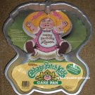 Wilton Aluminum Cake Pan Cabbage Patch Kids CPK 2105-1984 Happy Birthday Holidays Instructions
