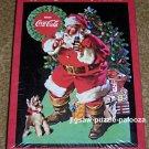 Coca Cola Santa Claus Kids 60 Piece Jigsaw Puzzle Hallmark PR2406 Sundblom 2001 SEALED