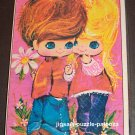 Built Rite 500 Piece Jigsaw Puzzle Bright Eyes 471 Boy & Girl COMPLETE