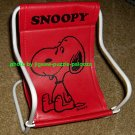 Snoopy Doll Size Wire Frame Beach Chair Lawn Director's Deck Peanuts Gang Schulz