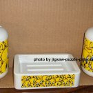 Looney Tunes Tweety Bird Child's Bathroom Set Faces Toothbrush Holder Soap Dish Lotion Dispenser