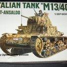 Italaerei Italian Tank M13/40 Fiat Ansaldo 1:35 Scale Plastic Model Kit Unbuilt 213