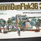Tamiya German 88mm Gun Flak 36/37 1:35 Scale Plastic Model Kit 17 COMPLETE