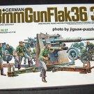 Tamiya German 88mm Gun Flak 36/37 1:35 Scale Plastic Model Kit 17 COMPLETE