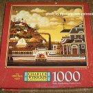 Charles Wysocki 1000 Piece Jigsaw Puzzle Fairhaven in the Fall COMPLETE 4679-11