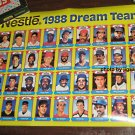 Nestle 1988 Dream Team Baseball Card Poster - Uncut Sheet