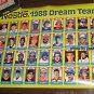 Nestle 1988 Dream Team Baseball Card Poster - Uncut Sheet