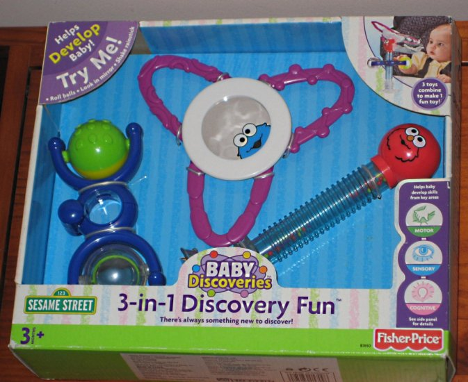 SOLD Fisher Price Baby Discoveries - 3-in-1 Discovery Fun ...