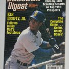 Baseball Digest Magazine - Ken Griffey Jr Cover - March 1990 - Junior - Mariners