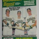 Baseball Digest Magazine - Mark McGwire Cover - April 1990 - Canseco - Bash Brothers