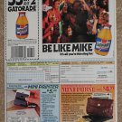 Michael Jordan Original Newspaper Ad - Gatorade Thirst Quencher - Bulls - 1992